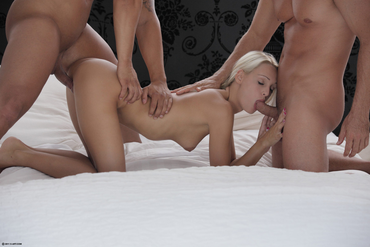 X-Art.com explicit erotic scenes – Erica's double pleasure